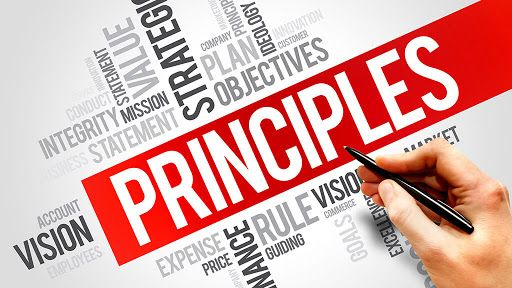 Some principles for success